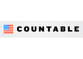 Countable Logo Grey Background